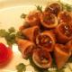 squid with tamarine source