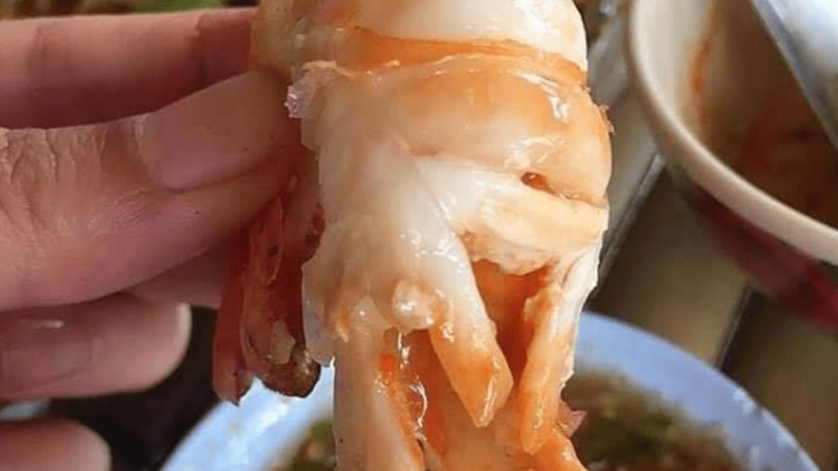 thai steamed shrimp