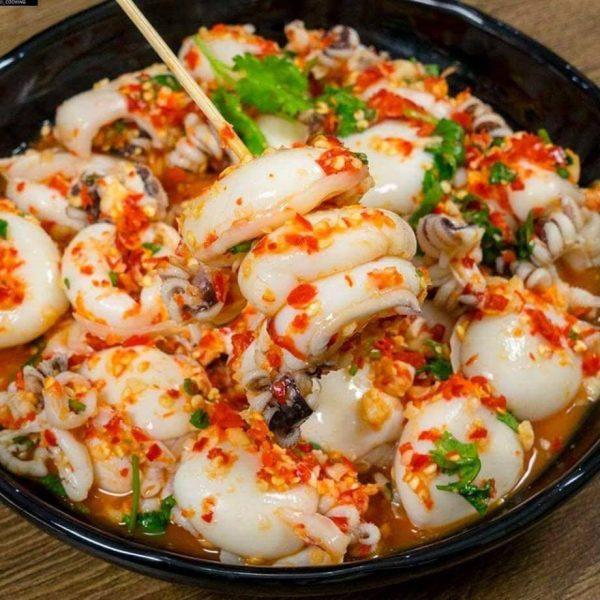 Octopus spicy
