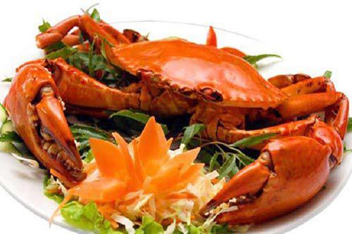 steam delicious sea crab